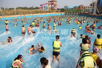 Attractive Water Park Wave Pool / Aqua Park Wave Pool Equipment
